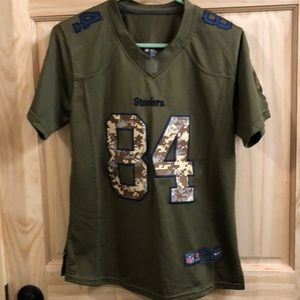Nike Tops - Pittsburgh Steelers Salute to Service Jersey 5866373985d1